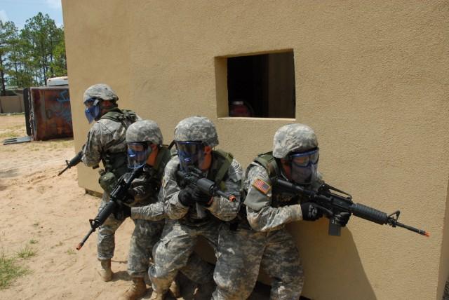 Airsoft adds hard edge to combat training