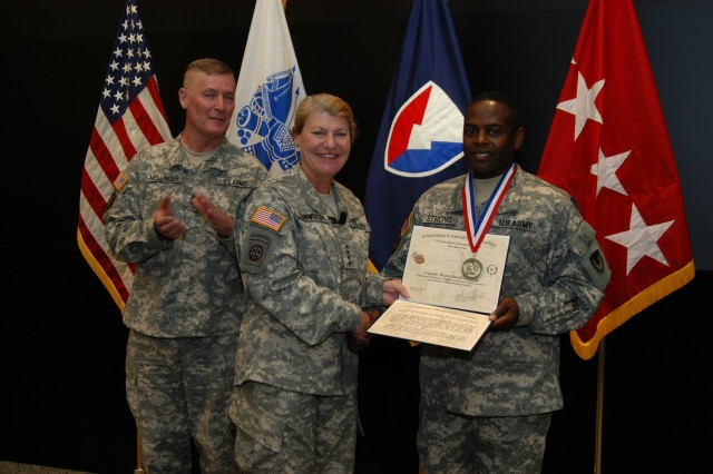 Sgt. Maj. Patrick D. Strong - General Somervell Medal of Excellence
