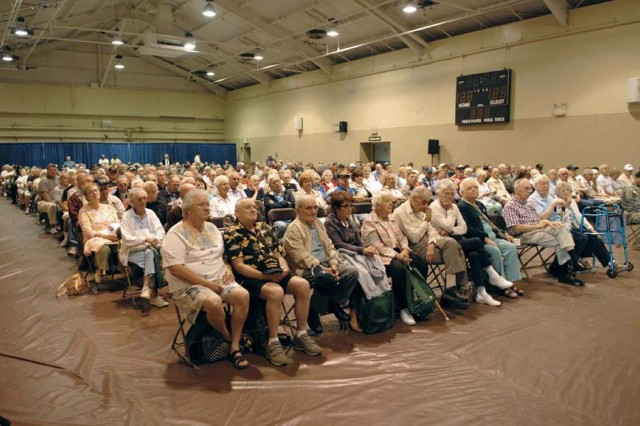 Tobyhanna Army Depot's Retirement Services Office hosted the annual Military Retiree Appreciation Day on Aug. 8.