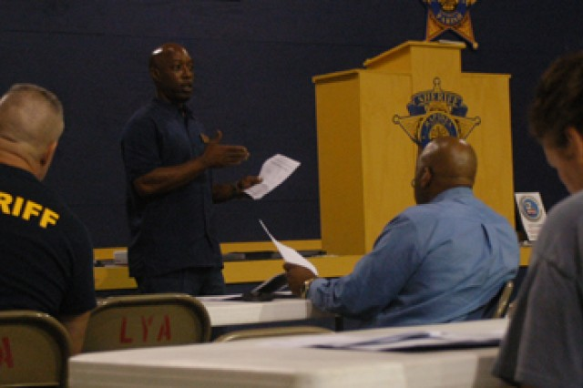 Casualty Assistance Center trains local police