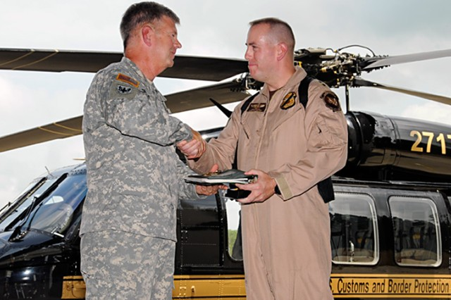 Army delivers state-of-the-art helicopter to DHS