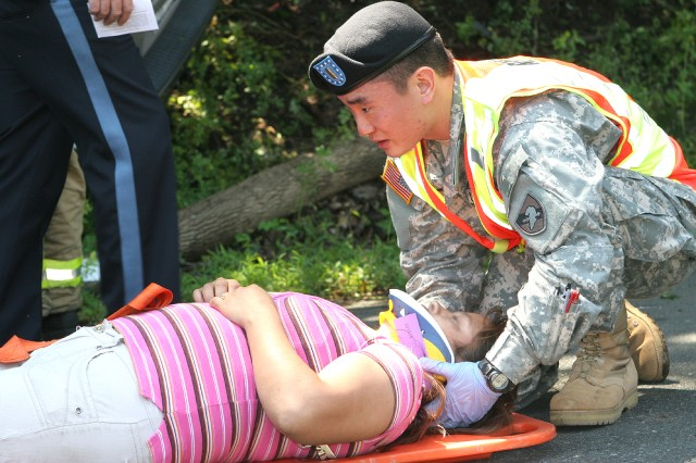 West Point cadets and staff take EMT-Basic course