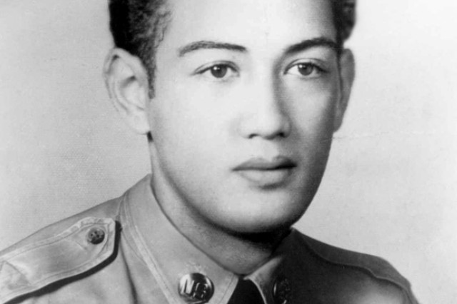 WAIANAE, Hawaii - Hawaii's first Medal of Honor recipient, Pfc. Herbert Kaili Pililaau, received another honor on Dec. 12, 2003 when the Waianae Army Recreation Center was named after him.   Pfc. Pililaau was born in Waianae, Hawaii on October 10, 1928. He joined the Army and was sent to Pia-ri, Korea. On September 17, 1951, only days before his 23rd birthday, Private Pililaau lost his life volunteering to cover for his withdrawing platoon, using all his ammunition and courageously defended his position by engaging the enemy fighting hand-to-hand with a bayonet and his fists before being overwhelmed and killed.