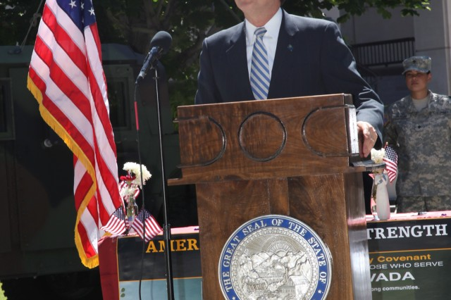 Nevada Governor-Hosted Community Covenant Ceremony