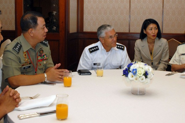 US, Japan, ROK agree to work together on HA/DR issues