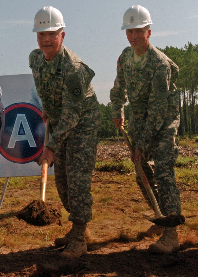 Third Army breaks ground on new headquarters