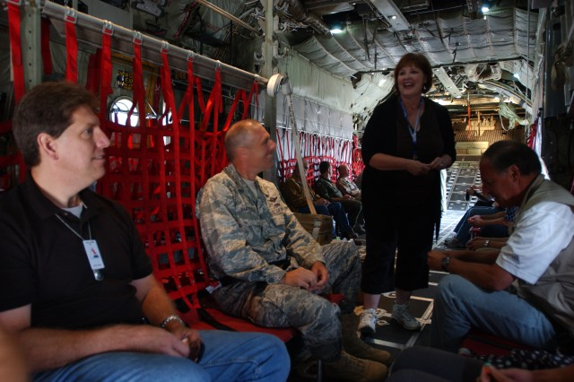 Local business leaders get glimpse into Army and Air Force Reserve life
