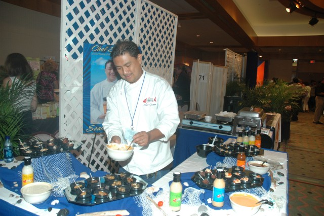 Food show infuses commissaries with local products, flavors