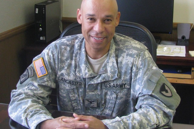 Col. Tommy Lancaster is chief of staff of the U.S. Army Security Assistance Command.