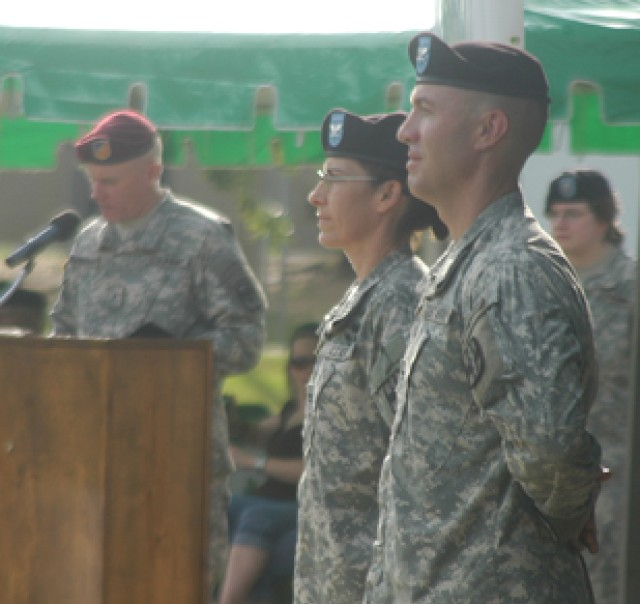 115th CSH under new leadership