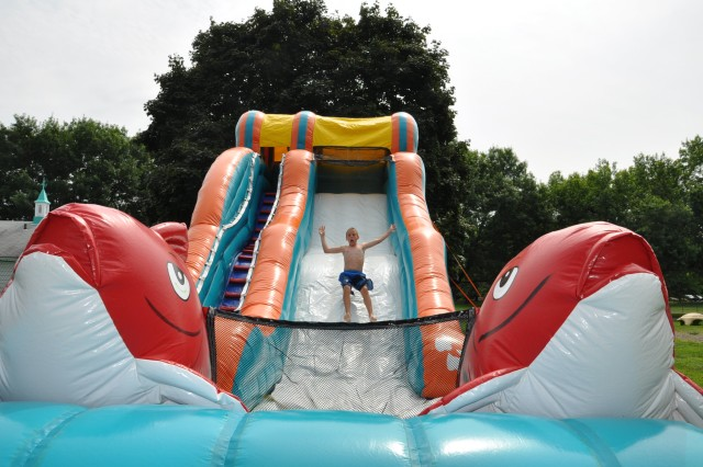 During Carnival Days, as seen in this photo, the Arsenal kids and staff did not have any shortage of fun this summer.