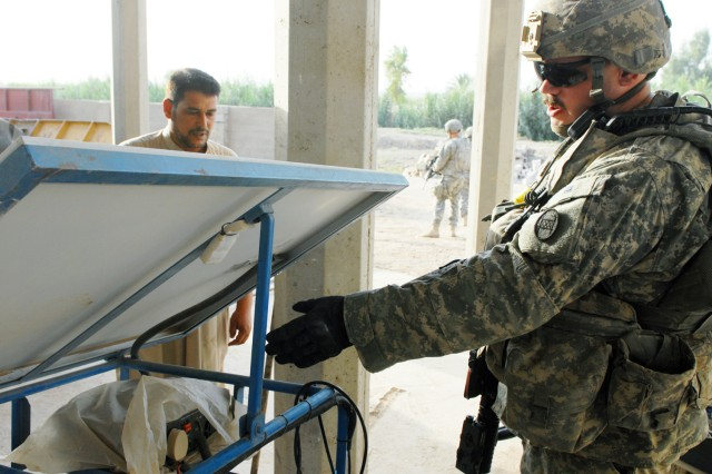 Soldiers provide clean water, fresh start