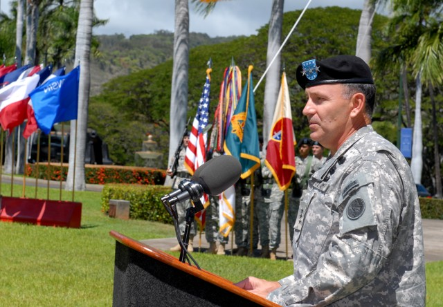 New Contracting Brigade Activated at Fort Shafter