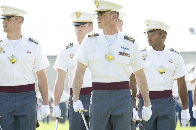 Decorated veteran leads West Point Corps of Cadets