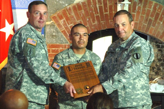 Duran is first Army AIT Platoon Sergeant of the Year