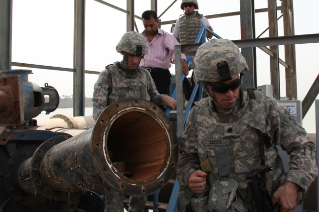 Iraq, U.S. Partner to Refurbish Water Treatment Plants