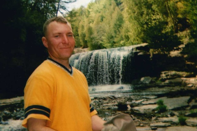 A personal photo of Sgt. 1st Class Jared C. Monti in July 2005.
