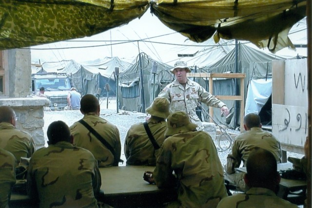 A personal photo of Sgt. 1st Class Jared C. Monti, who will receive the Medal of Honor, the highest medal for valor.