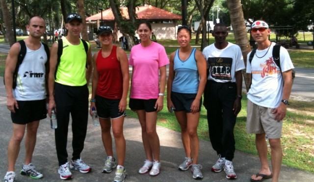 USARPAC Soldiers run in Singapore Army Half Marathon