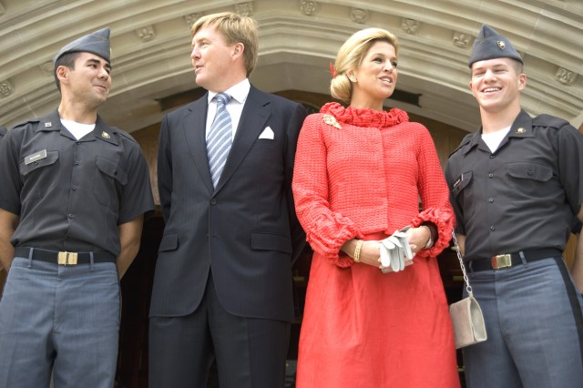 Dutch Royal Family visits West Point