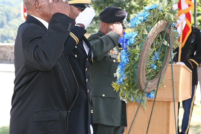 Buffalo Soldier Memorial Service at West Point
