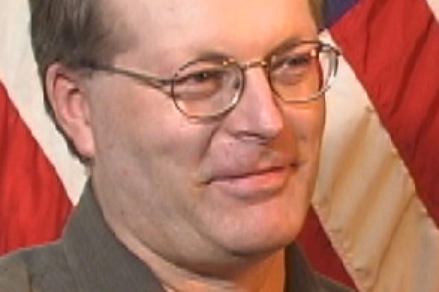 9/11 Pentagon survivor, John Yates. Photo taken in 2002 at the Pentagon.