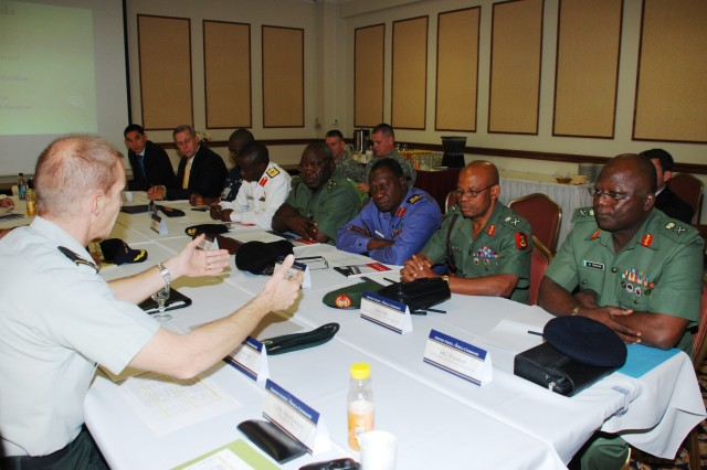 Nigerian delegation assists U.S. Africa Command in engagement planning process