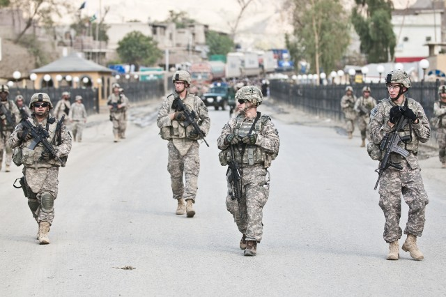 AF/PAK Border Foot Patrol