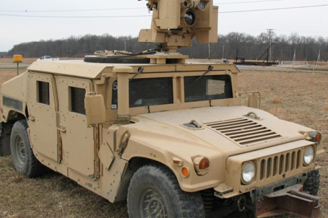 The XM153 CROWS on top of a an 1151 Humvee. CROWS minimizes the warfighter's exposure to hostile events, such as improvised explosive devices. The gunner operates the system from under armor, instead of exposed in the turret.