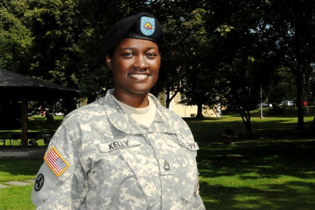 Sgt. 1st Class Charise Kelly.