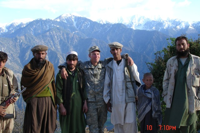 Monti in Afghan mountains