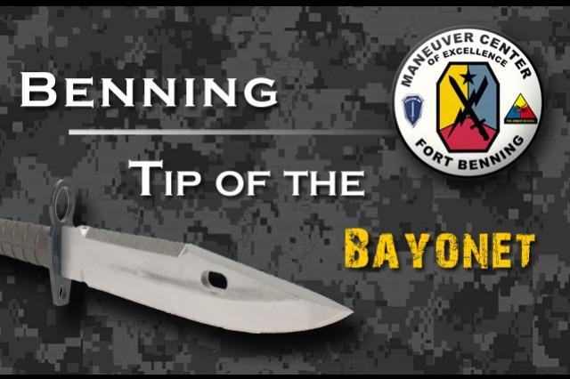 Benning:  Tip of the Bayonet