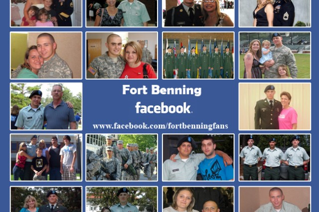 Fort Benning Families connect through Facebook
