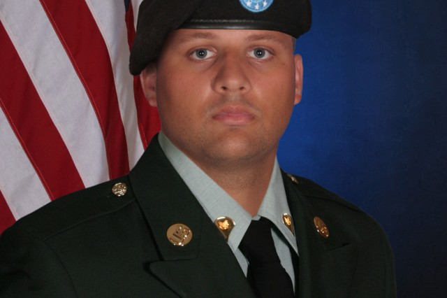 Spc. Christopher Hogg died Sept. 10 after being hospitalized for one week at Palmetto Health Richland Memorial Hospital with pneumonia.