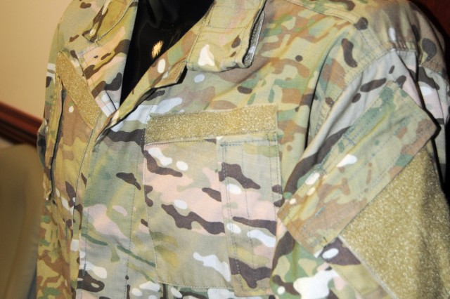 """The """"MultiCam"""" camouflage pattern is one of two that will be tried out in Afghanistan beginning in September."""