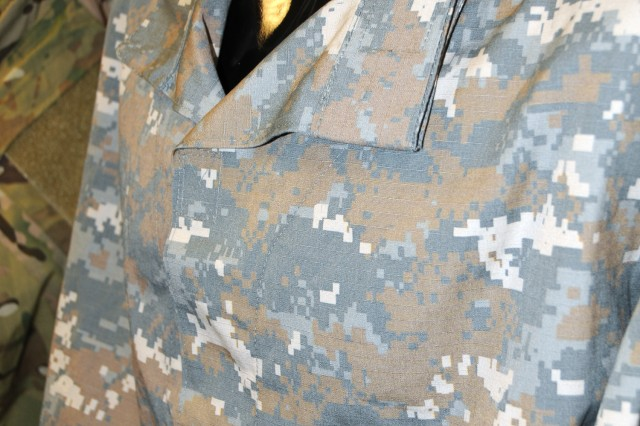 """The """"Universal Camouflage Pattern - Delta"""" camouflage pattern is one of two that will be tried out in Afghanistan beginning in September."""