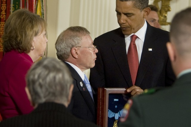 President awards Medal of Honor