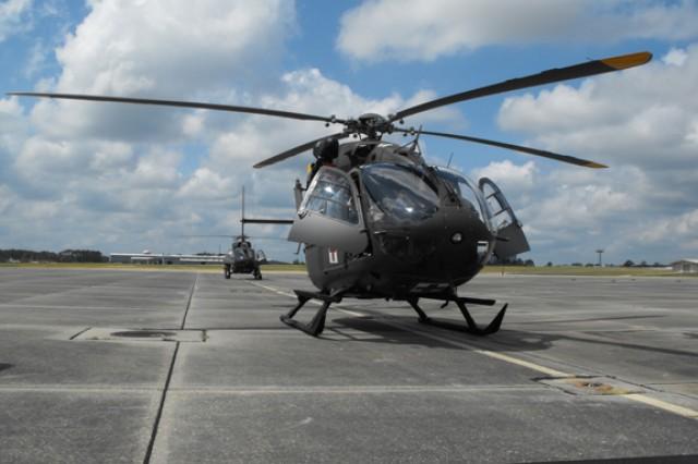 New MEDEVAC fleet lands at Fort Polk