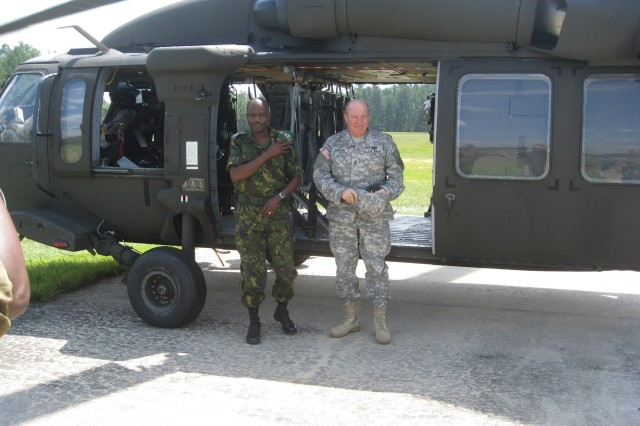 North Carolina National Guard hosts Botswana Defence Force officers