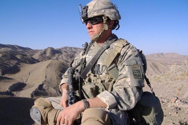 T.J. in Afghanistan