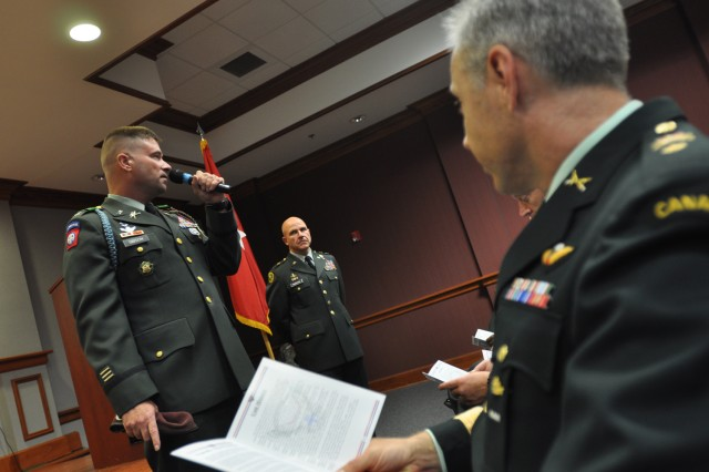 Visit from Brig. Gen. McMaster kicks off distinguished lecturer series