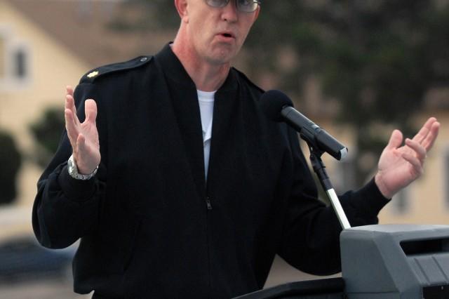 Navy Chaplain Lt. Cmdr. Thomas Statler.