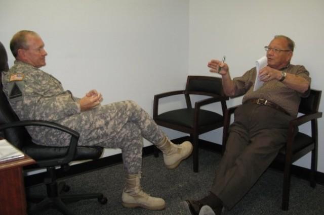 Gen. Dempsey interviewed by Sierra Vista Herald/Review