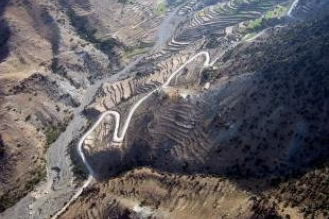 New Afghan roads promote peace, prosperity