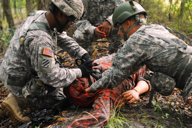 Vanguard 'Top Medics' rep for Army-wide competition