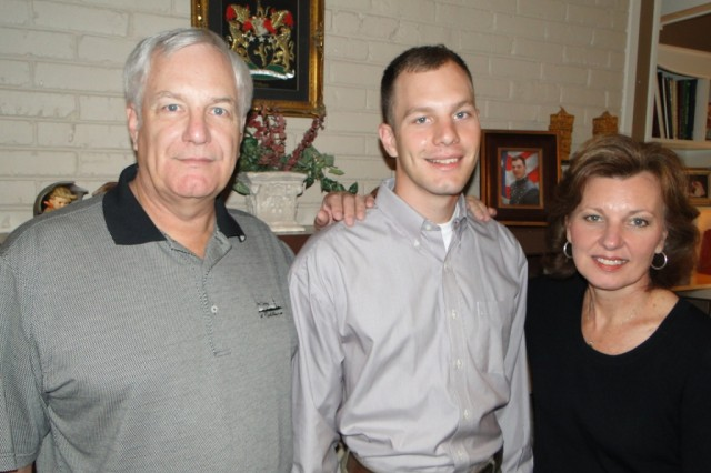 Matthew Wilson, a West Point senior, is looking forward to the culmination of his military academy education and the beginning of his service to the nation. His years at West Point have been successful, in part, because of the support of his family, including his mom and dad, John and Caroline Wilson of Huntsville.