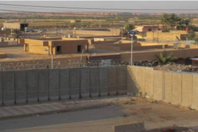 The Gulf Region Division, U.S. Army Corps of Engineers in Iraq is completing security upgrades to Al Qa'im courthouse in Al Anbar Province. The $750,000 project is being funded by the International Narcotics and Law Enforcement Fund.