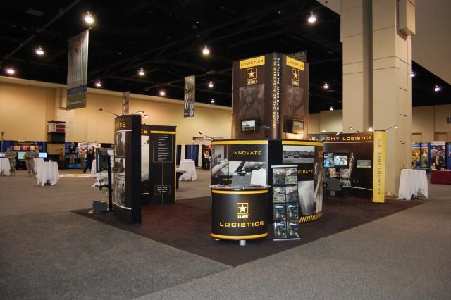 The G-4 Exhibit at the 2009 AUSA Logistics Symposium in Richmond, Virginia.