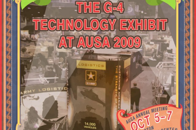 Advertisement for the G-4 Technology Exhibit at AUSA