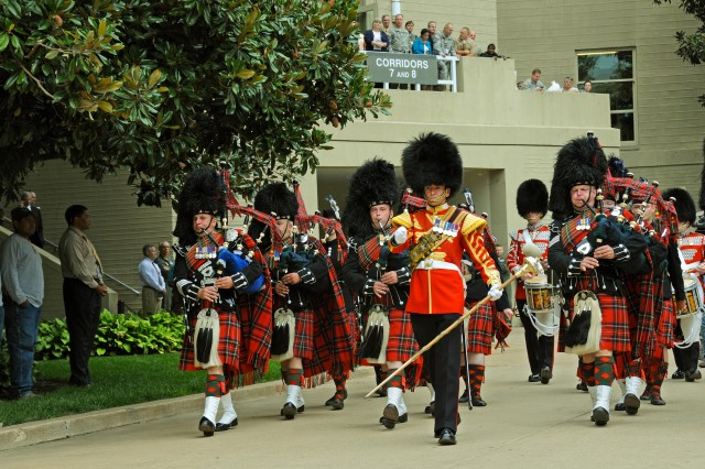 Scots Pipes and Drums 1